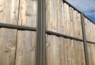 Crooked Corner Lap and cap timber fencing 2