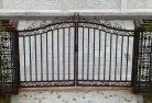 Crooked Corner Wrought iron fencing 14