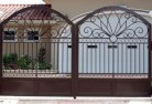 Crooked Corner Wrought iron fencing 2