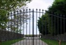 Crooked Corner Wrought iron fencing 9